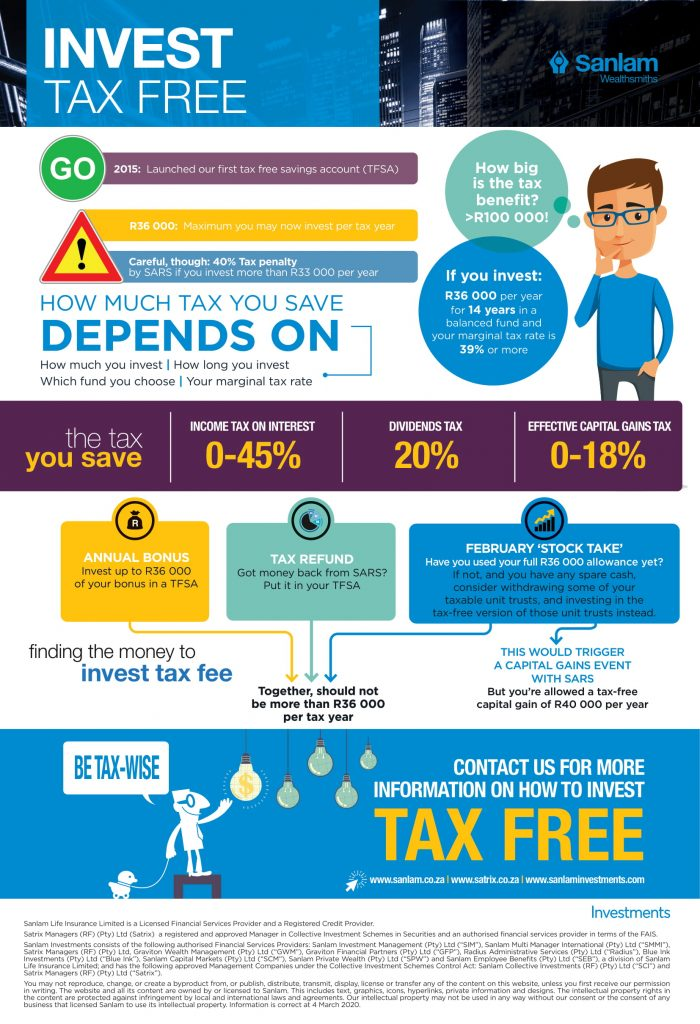 Invest tax free
