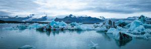 arctic melting glacier